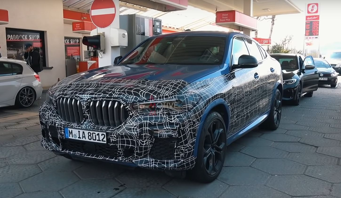 2021 BMW X5 Will Introduce Electric Version >> 2021 Bmw X6 M50i Spied Testing At The Nurburgring Sounds