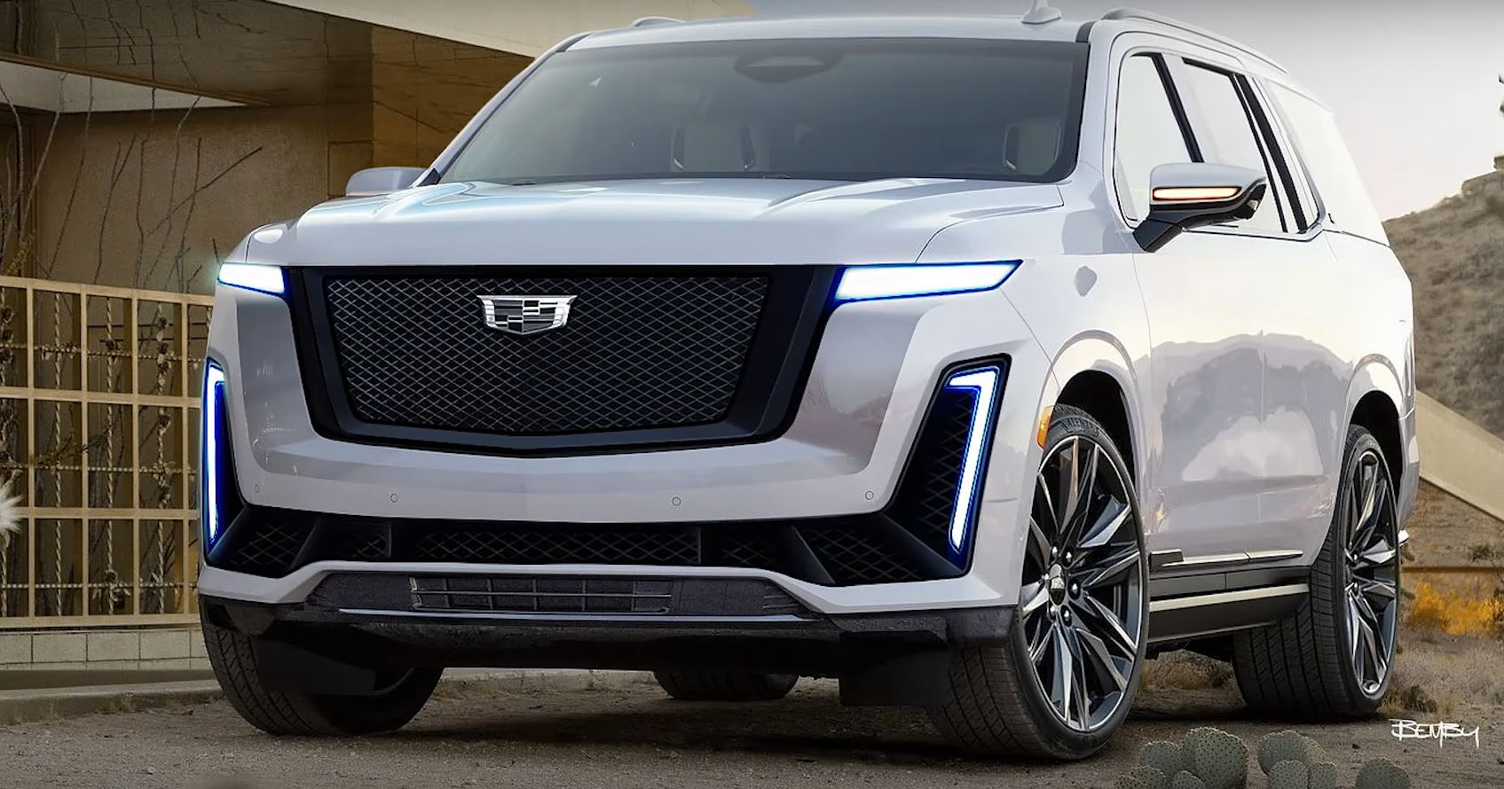 Wallpaper Cadillac Redesign 2021