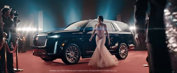 2021 Cadillac Escalade Takes Regina King to the 2020 Oscars - autoevolution
