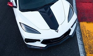 "2021 Chevrolet Corvette ""Stingray R"" Theme Graphics Previewed by Corvette Racing"