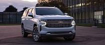 2021 Chevrolet Suburban Brakes Better Than the 2021 Mazda3 From 70 MPH