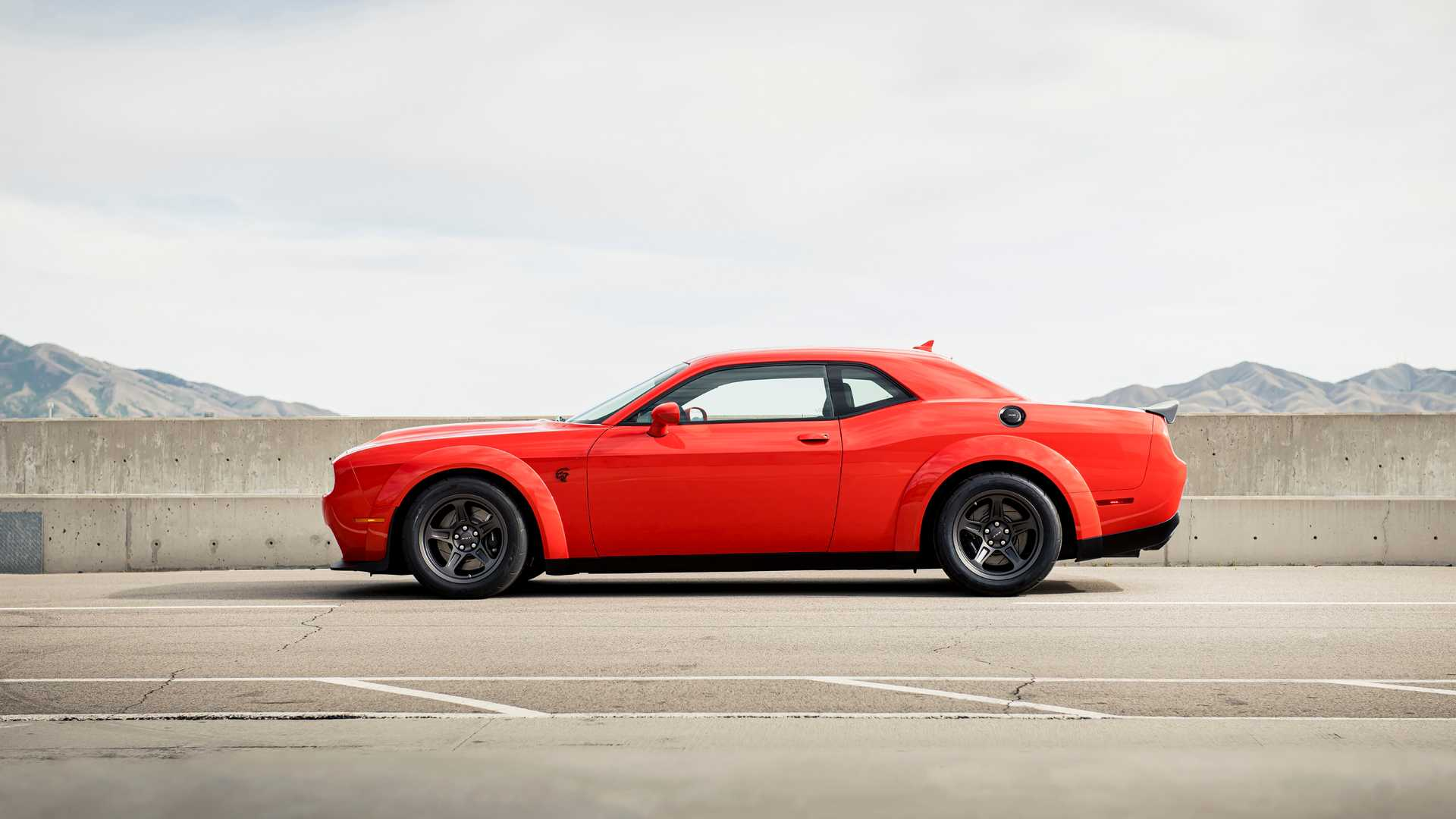 2021 Dodge Challenger Srt Super Stock Muscle Car Is Half Demon Half Redeye Autoevolution