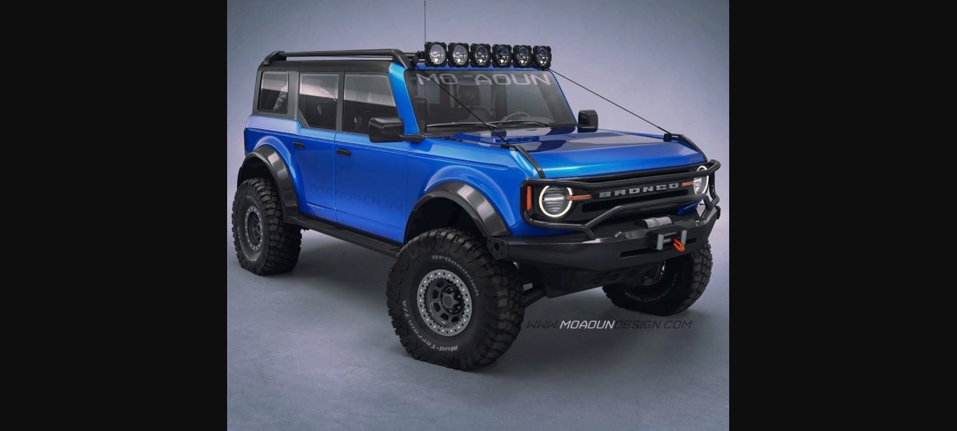 2021 Ford Bronco Rendered In 15 Exterior Colors And With Jurassic Park Livery Autoevolution
