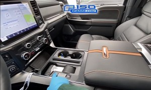 2021 Ford F-150 Folding Shifter, Interior Work Surface, SYNC 4 Detailed on Video