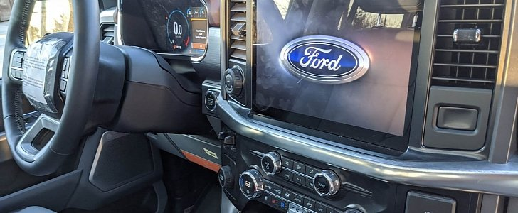 2021 Ford F-150 Interior Photos Reveal SYNC 4 Touchscreen ...