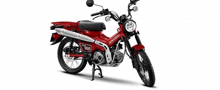 2021 honda mini motorcycle lineup welcomes allnew trail