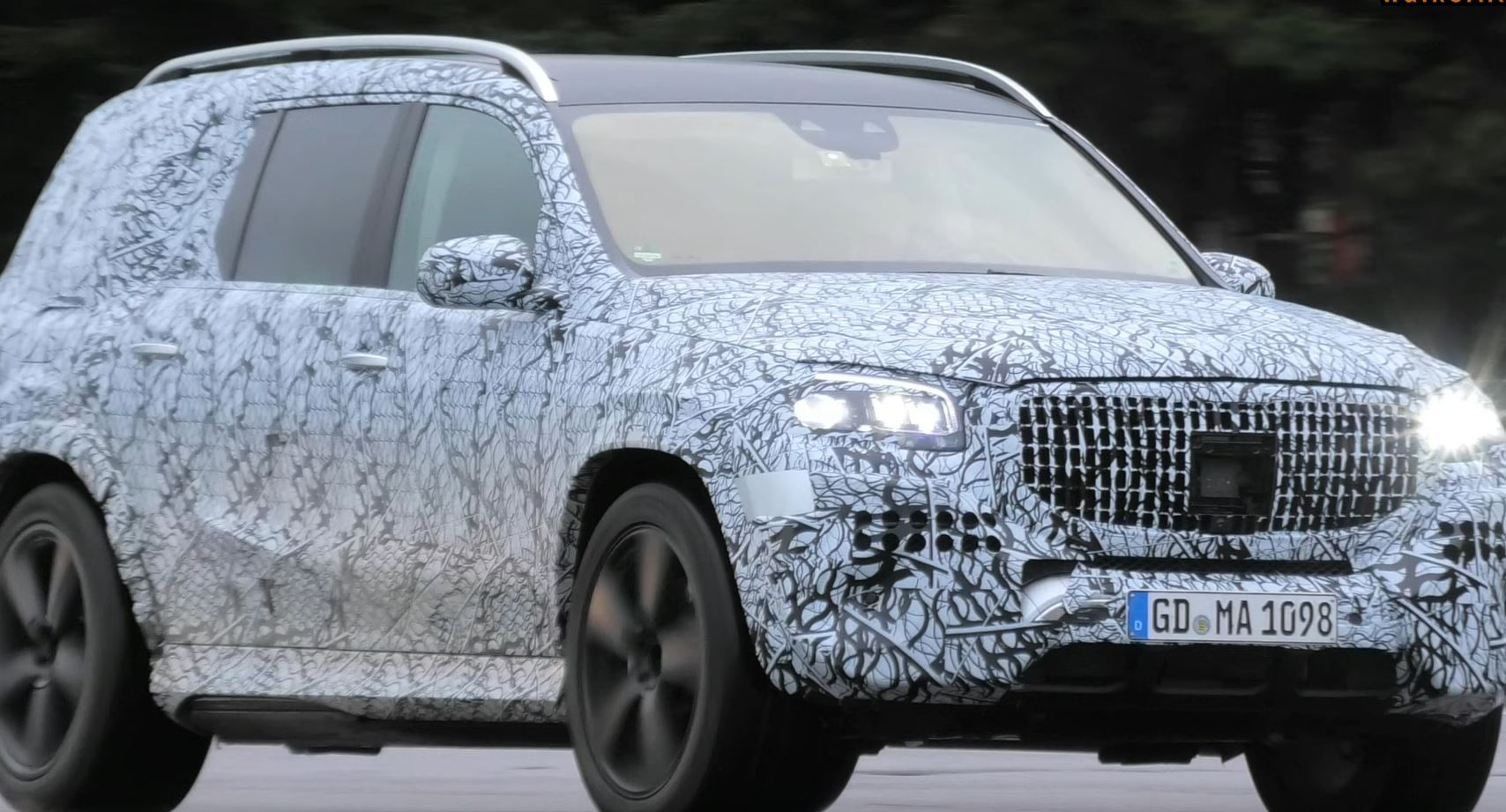 2021 Mercedes-AMG GLS 63 New Spy Photos Available >> 2021 Maybach Gls Class Spied During Testing Could Be V8