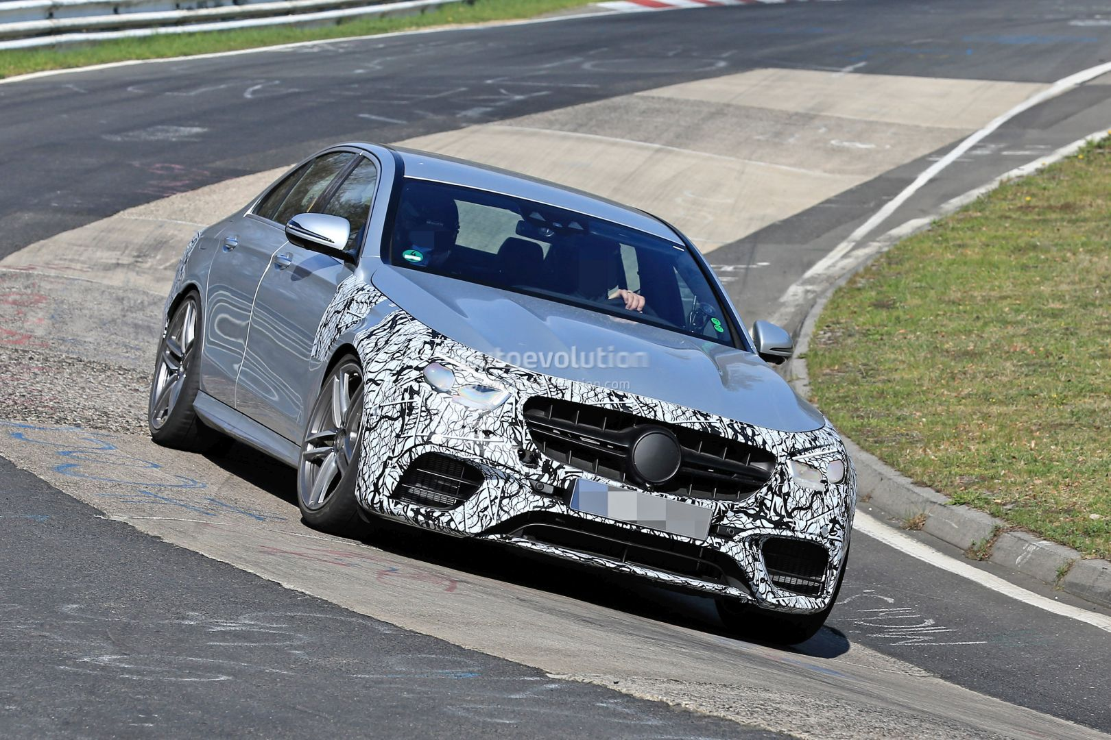 2021 mercedes-amg e63 s shows up at nurburgring  out for m5 competition blood