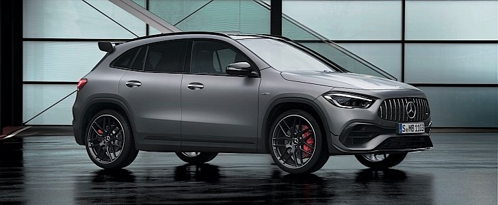 2021 Mercedes-AMG GLA 45 Unveiled with Powerful Dual Personality - autoevolution