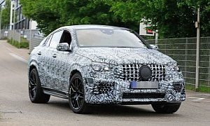 2021 Mercedes-AMG GLE 63 Coupe Spotted, Out For 2021 BMW X6 M Blood