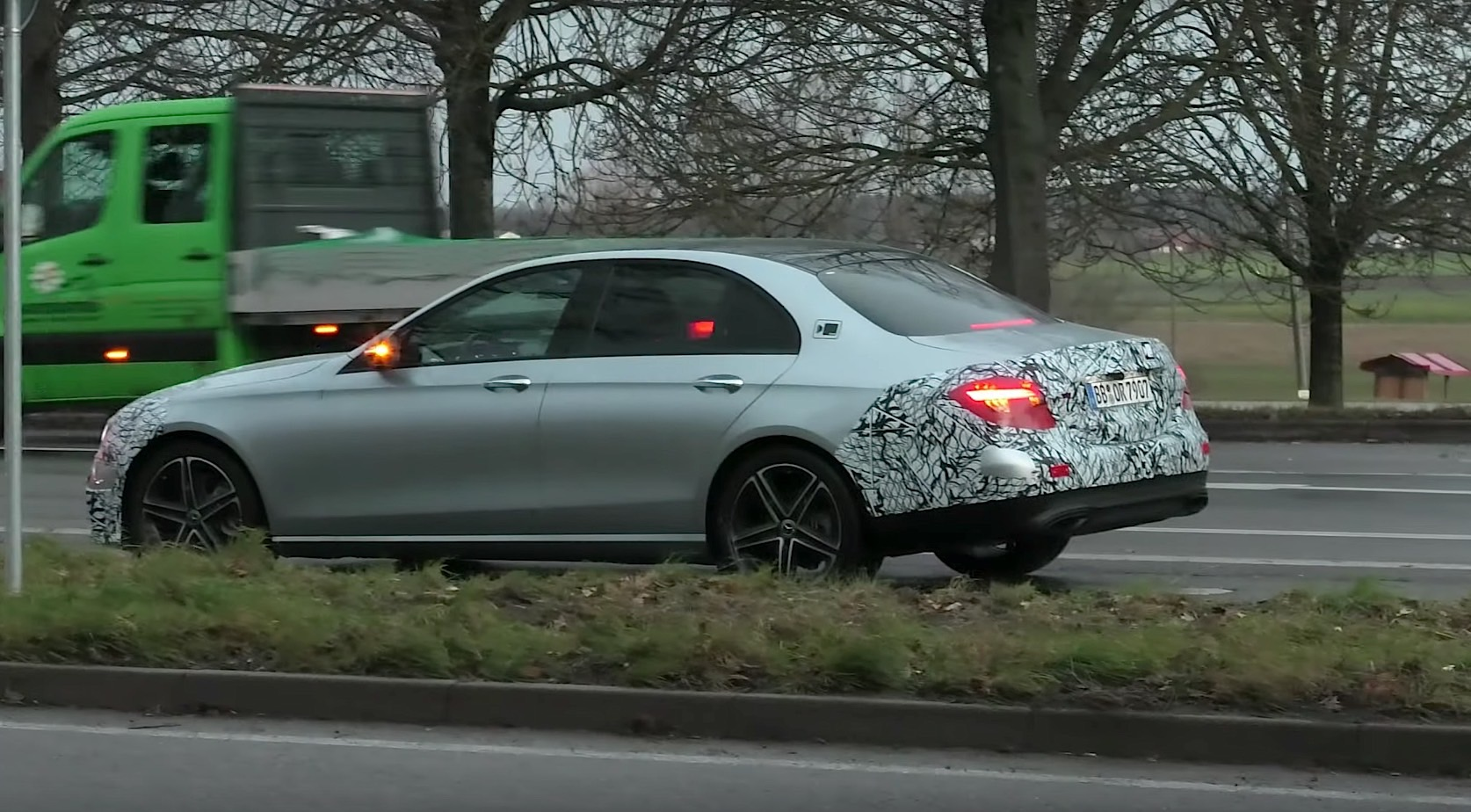 2021 Mercedes Benz E Class Facelift Struggles To Hide Its New Front And Rear Autoevolution