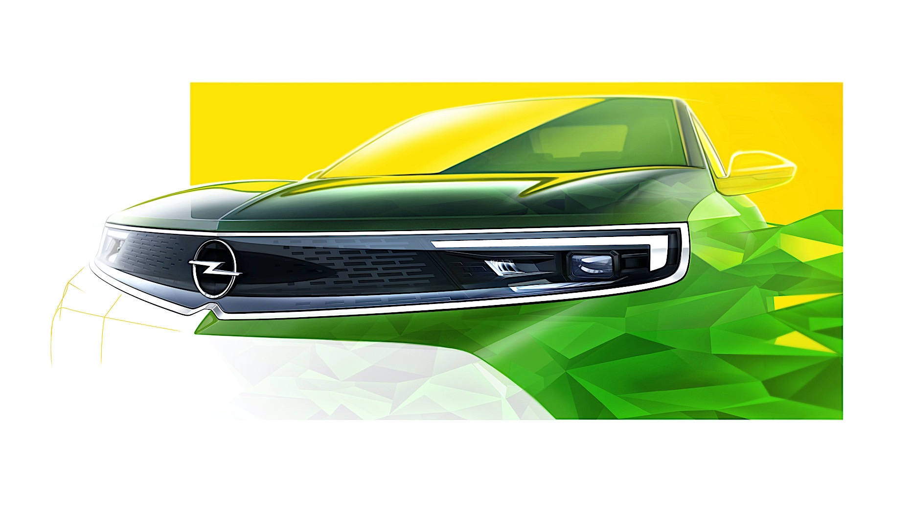 2021 opel mokka front end uncovered previews the face of