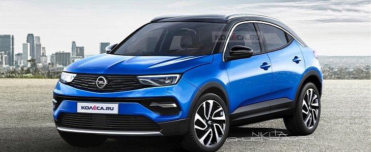 2021 Opel Mokka X Gets Accurately Rendered, Looks ...