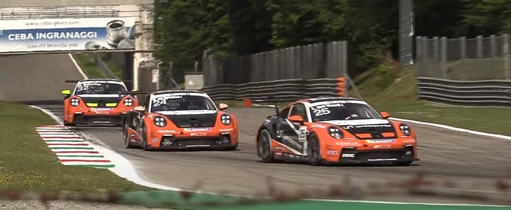 2021 Porsche 911 GT3 Cup Cars Testing at Monza Is a Feast For the Eyes and Ears