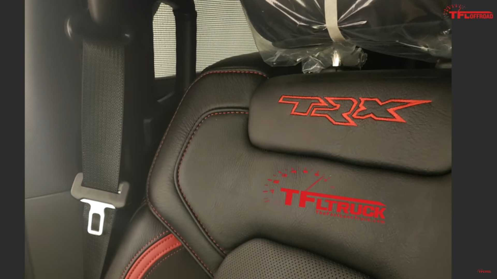 2021 Ram Rebel Trx Images Show Interior And Engine Sound Caught On Video Autoevolution