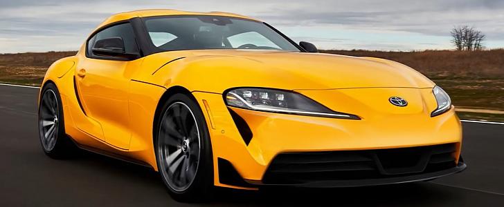 2021 Toyota Supra 2.0 Gets Alternative Front Designs - autoevolution