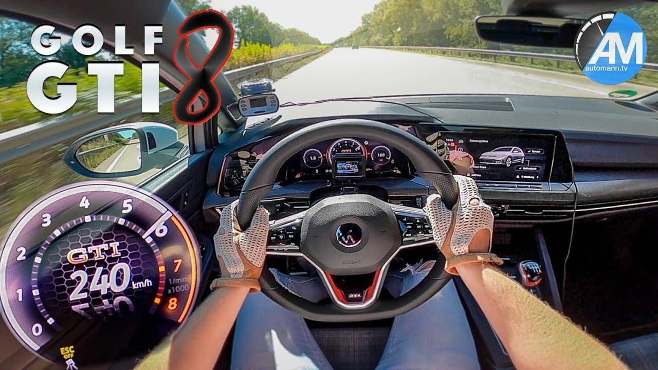 2021 Volkswagen Golf 8 Gti Subjected To Autobahn Speed Test Autoevolution
