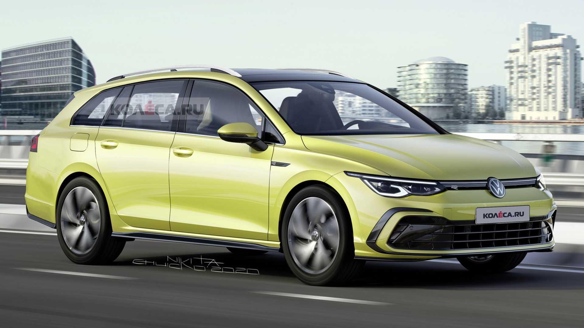 2021 Volkswagen Golf Sportwagen Concept and Review