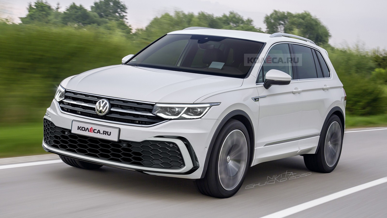 2021 volkswagen tiguan here's what it could look like