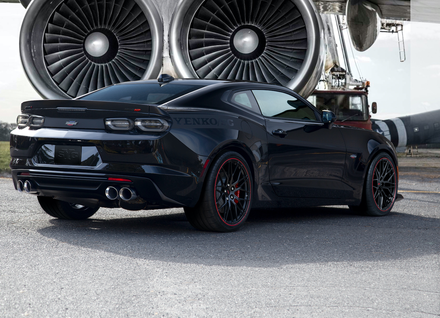 2021 yenko/sc stage 2 camaro from sve cranks out 1,050 hp