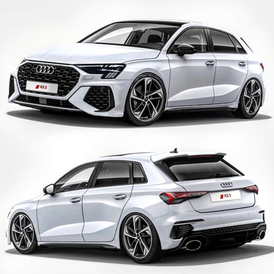2022 Audi RS3 Accurately Rendered, Looks Like an RS6 Hatchback ...