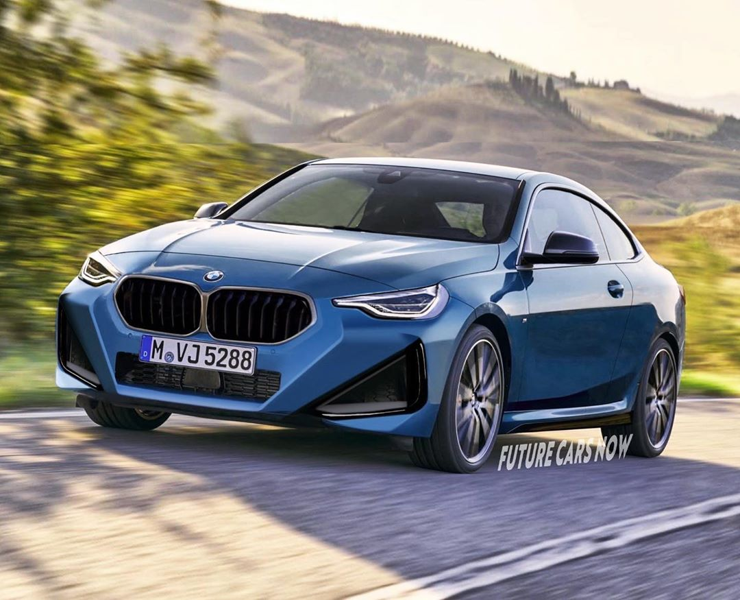 2022 Bmw 2 Series Coupe Gets Rendered Look Like A Bad Facelift Autoevolution