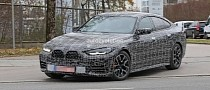 2022 BMW 4 Series Gran Coupe Camouflage Leaves Almost Nothing to Imagination