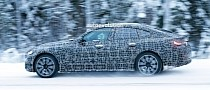 2022 BMW 4 Series Gran Coupe Still Rocking Full Camo Before Official Reveal