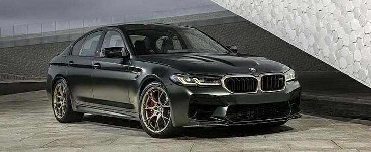 2022 BMW M5 CS Leaks Online Ahead of Official Debut - autoevolution