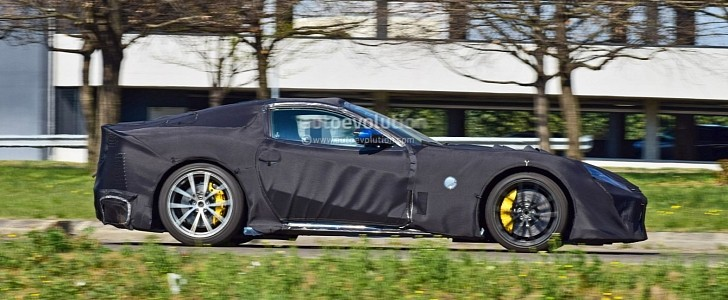 2022 Ferrari 812 Versione Speciale Prototype Looks Like A Batmobile Autoevolution