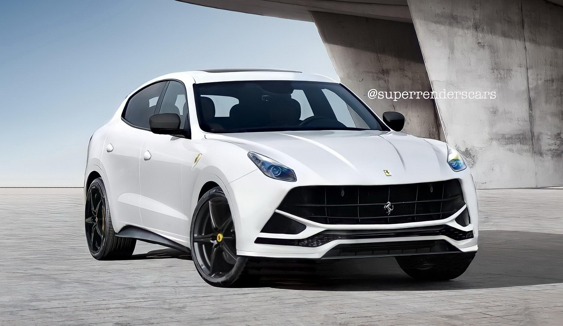 2022 Ferrari Purosangue Suv Will Take The Urus Lunch Money And Here S Why Autoevolution