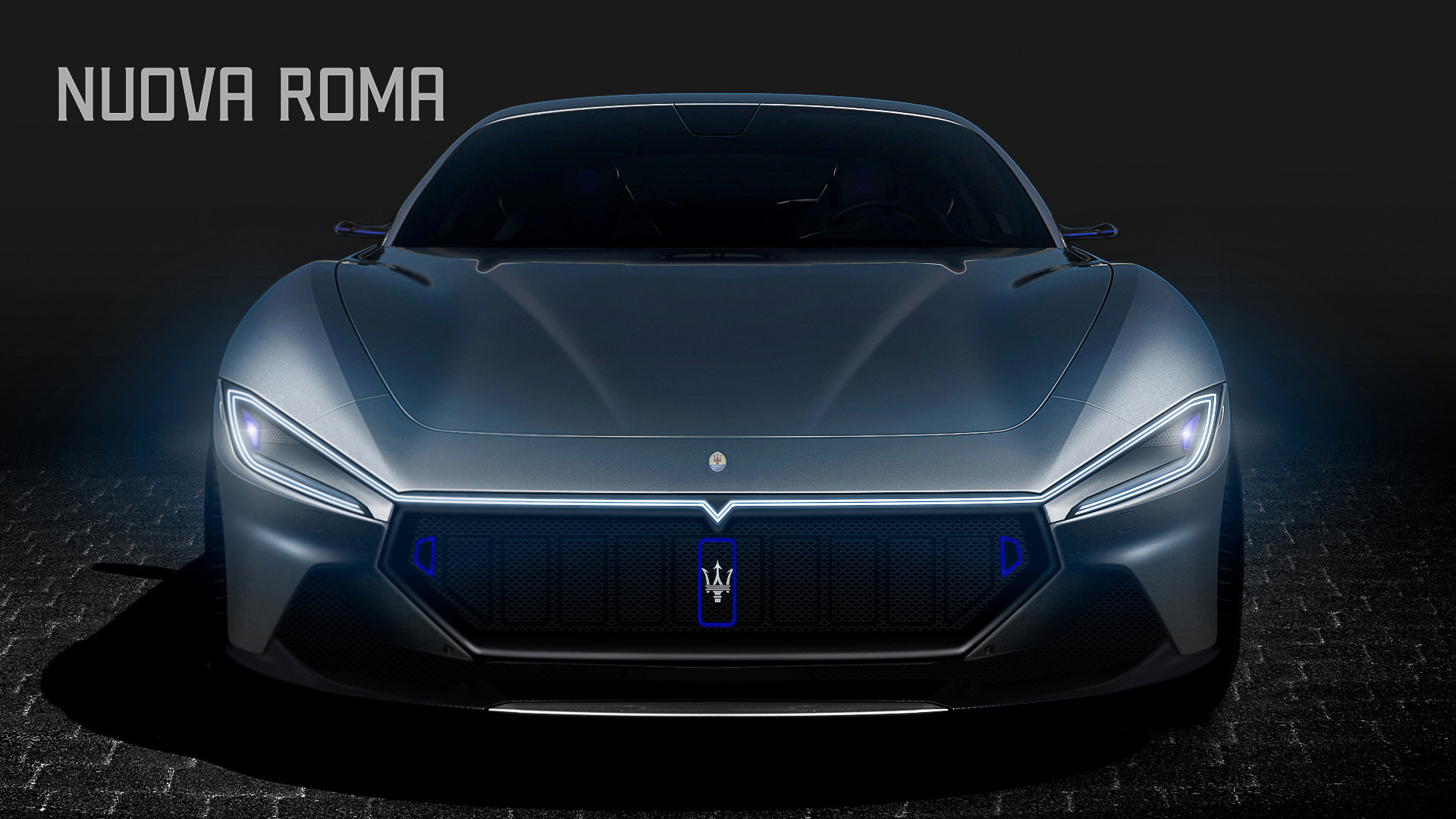 5 Maserati GranTurismo Imagined With Ferrari Roma Styling