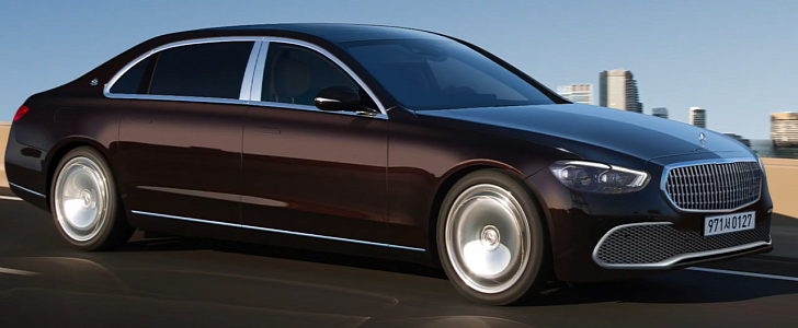 2022 Maybach S-Class Accurate Rendering Prepares You for ...