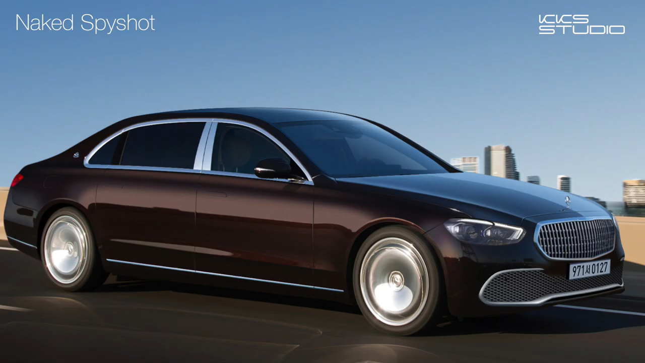 5 Maybach S-Class Accurate Rendering Prepares You for the Giant