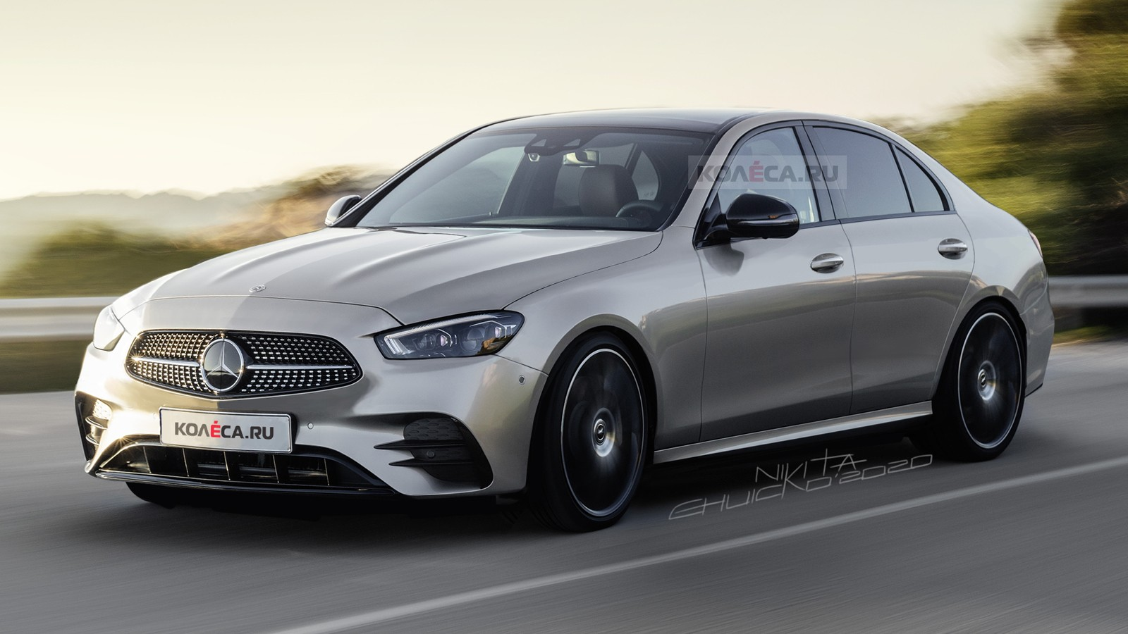 5 Mercedes-Benz C-Class Rendering Shows the AMG Line Look