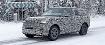 2022 Range Rover Looks Like One Solid Piece of Metal Winter Testing
