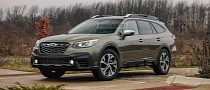 2022 Subaru Outback Wilderness Rendered With Hexagonal Fog Lights, Sporty Grille
