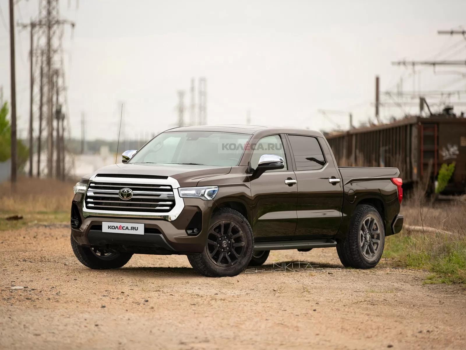 5 Toyota Tundra Rendered With Evolutionary Design, Hybrid V5