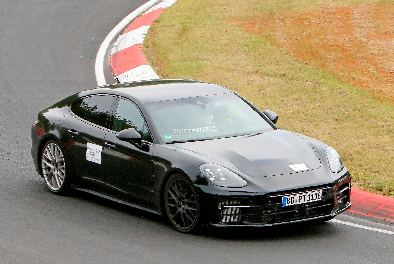 2023 Porsche Panamera Facelift Spied Flaunting Large Side Intakes