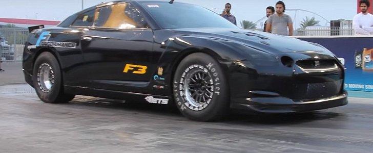2 100 Hp Nissan Gt R Is Uae S Fastest Godzilla Autoevolution