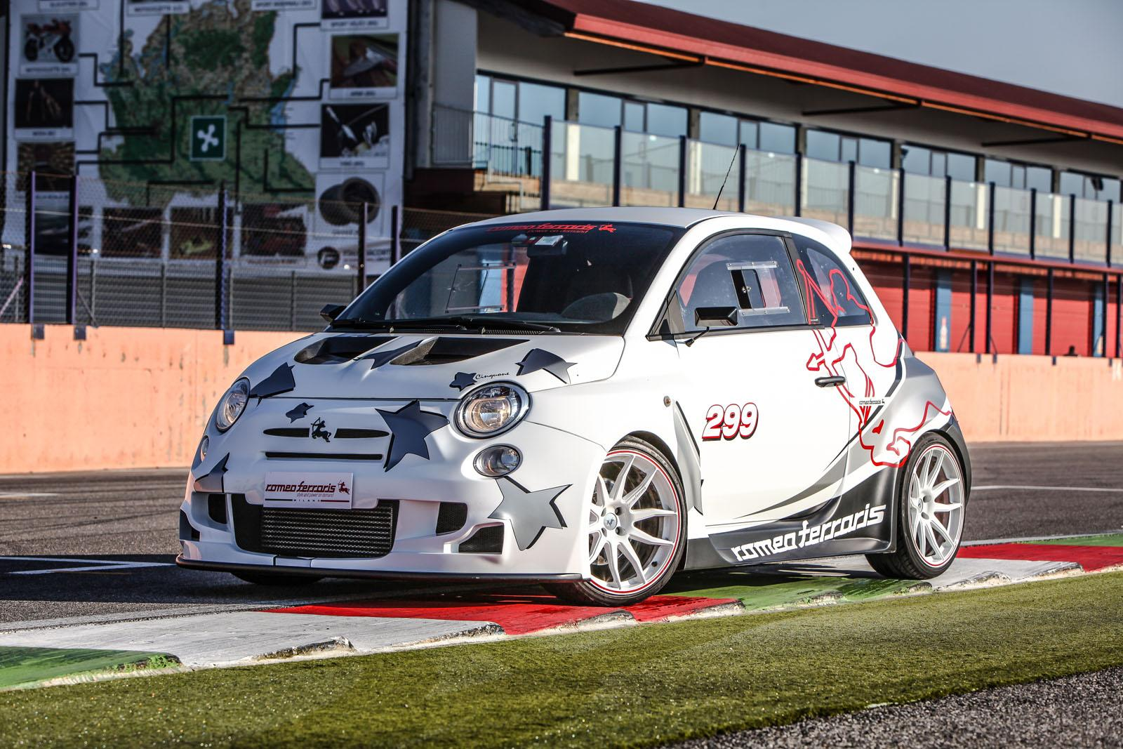 244 Hp Abarth 500 Cinquone Corsa By Romeo Ferraris Is