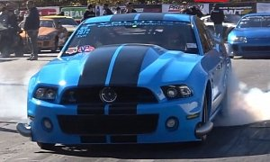 Hp Ford Mustang Shelby Gt S Quarter Mile Lives Up To Its Name