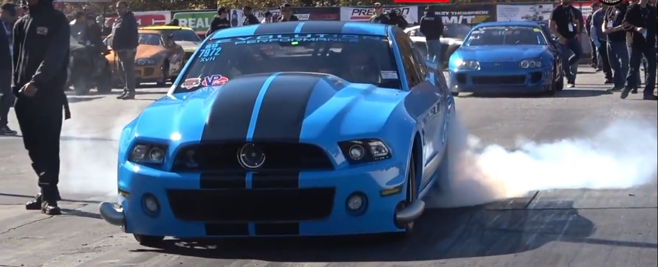 2 500 Hp Ford Mustang Shelby Gt500 Does 6 66s Quarter Mile Lives Up To Its Name