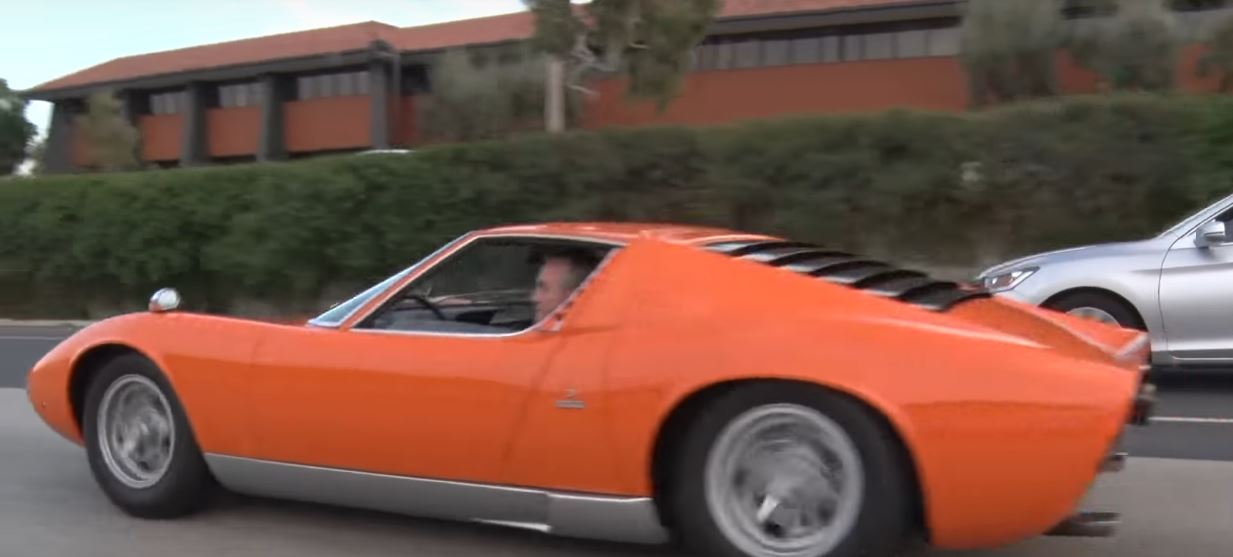 2 5m Lamborghini Miura Barn Find Took Years To Chase Goes Speeding