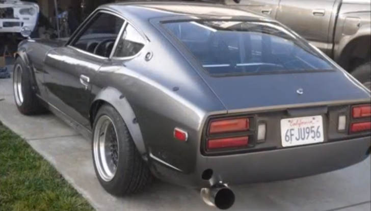 2jz Powered Datsun 260z Is An Awesome Build Autoevolution