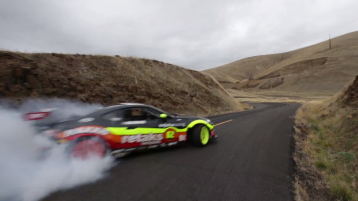 2JZ-Powered Scion FR-S + Ryan Tuerck = Epic Drifting Session [Video]