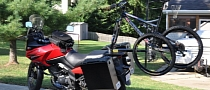 2x2 Bicycle Rack for Motorcycles