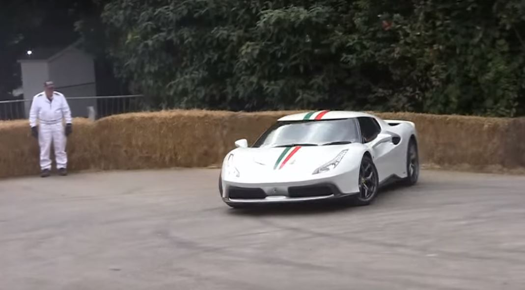 3 Million One Off Ferrari 458 Mm Speciale Destroys Its Rear Tires