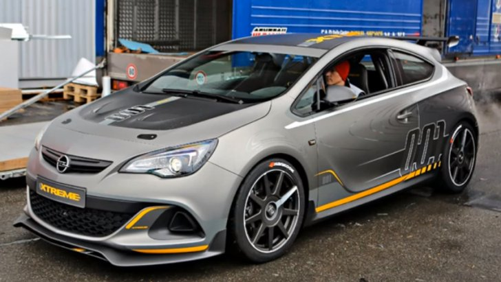 300 Hp Opel Astra Opc Extreme Spotted Arriving In Geneva