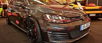 293 HP Rothe Volkswagen Golf GTI Showing Off at Essen 2013 [Live Photos]